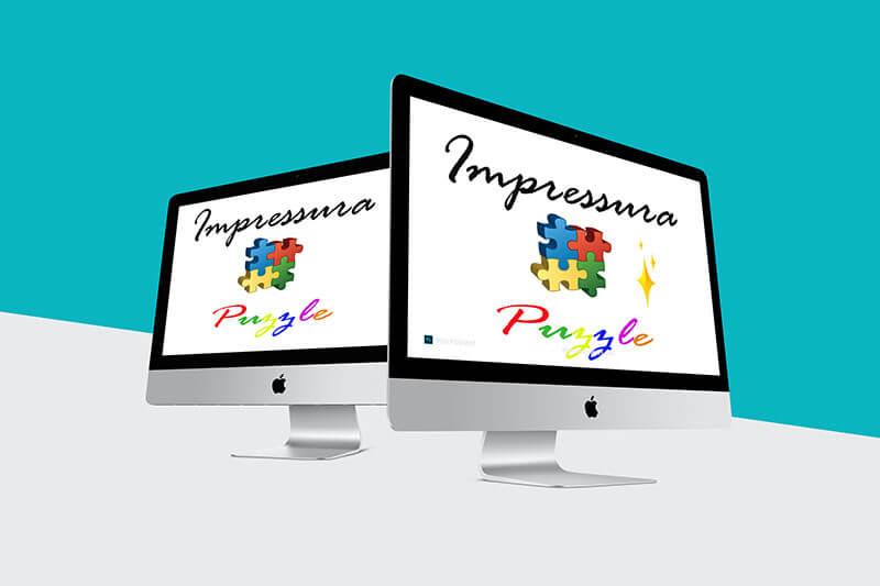 Dizajn i tisak Impressura puzzle