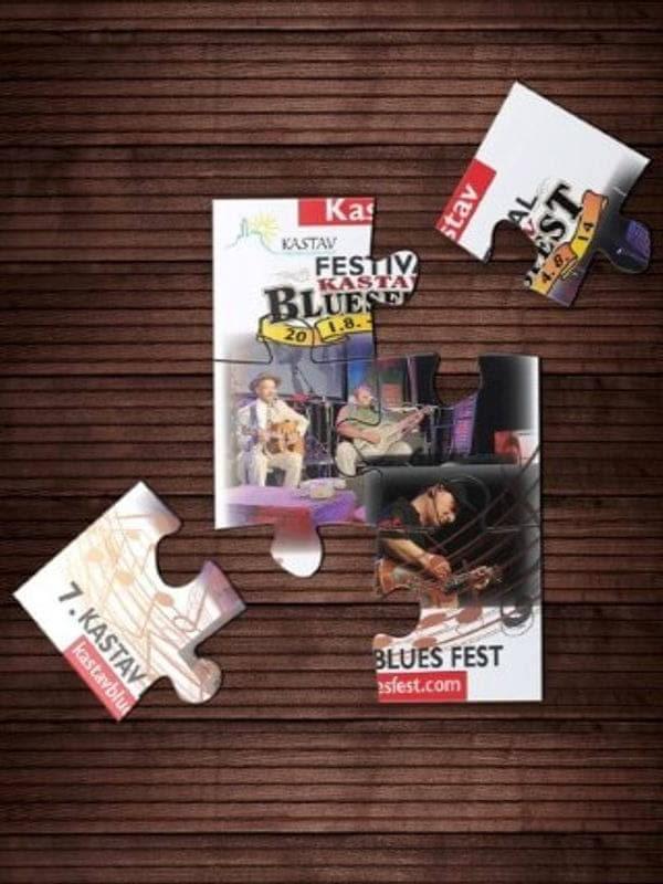 Kastav Blues fest promotivne puzzle Impressura