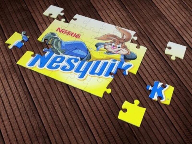 Nesquik Puzzle Impressura