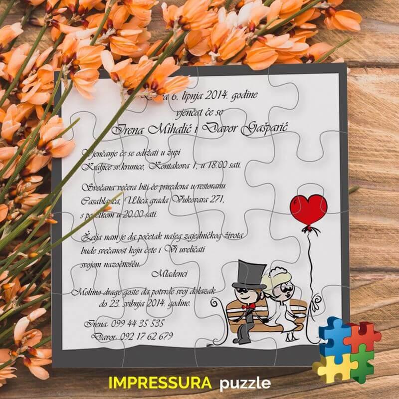 Pozivnice-za-vjencanje Puzzle-Impressura