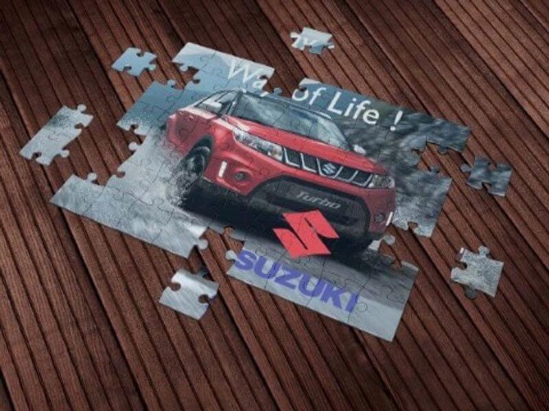 Suzuki promotivne puzzle Impressura
