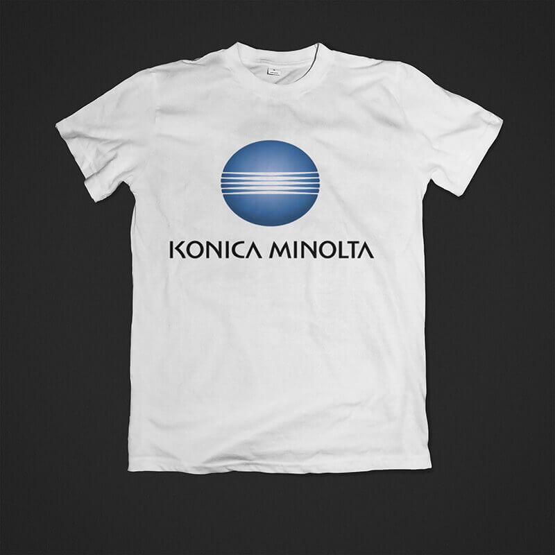Tisak na majice Minolta Impressura puzzle