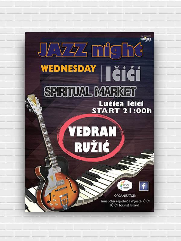 Plakat tisak Impressura puzzle